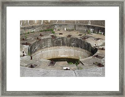 Battery Stevenson Fort Warren Framed Print