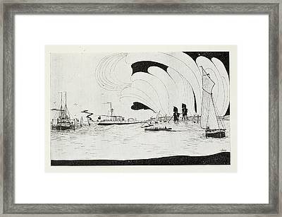 Battle Framed Print