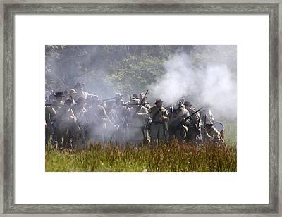Battle For Webster's Hill - Perryville Ky Framed Print