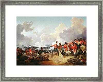 Battle Of Alexandria, 21 March 1801, 1802 Oil On Canvas Framed Print