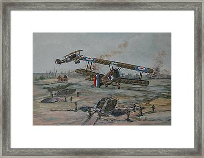 Battle Of Amiens Framed Print