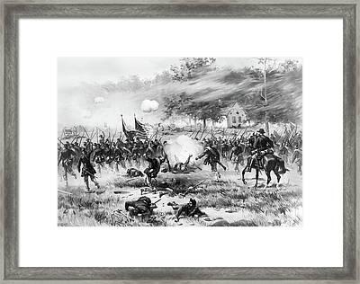 Battle Of Antietam, 1862 Framed Print by Granger