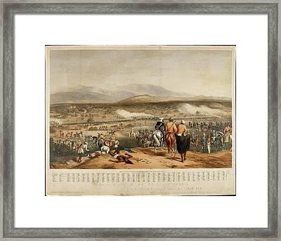 Battle Of Chillianwala Framed Print