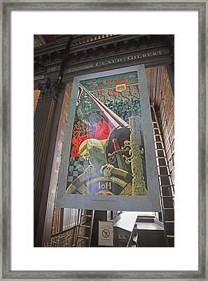Battle Of Clontarf Framed Print