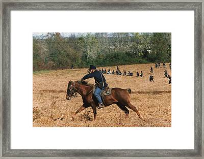 Battle Of Franklin - 4 Framed Print by Kae Cheatham
