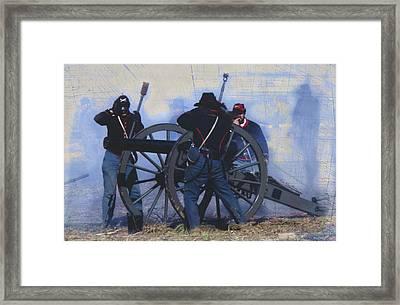 Battle Of Franklin - 1 Framed Print by Kae Cheatham