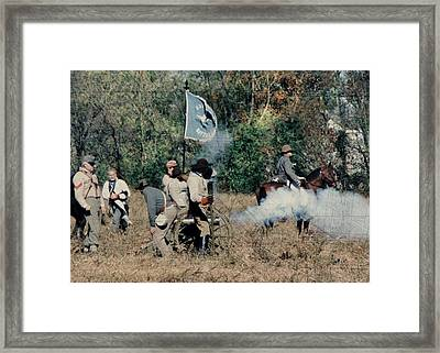 Battle Of Franklin - 3 Framed Print by Kae Cheatham