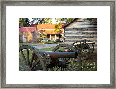Battle Of Franklin Framed Print by Brian Jannsen