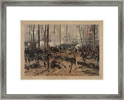 battle of Shiloh Framed Print