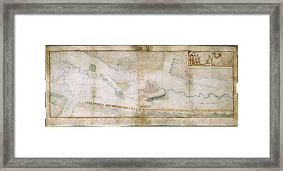 Battle Of St Gothard Framed Print by British Library
