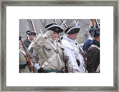 Battle Of Trenton Framed Print