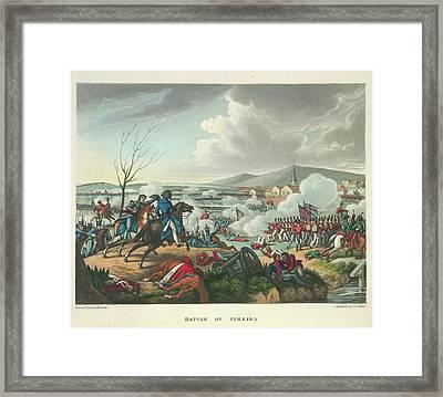 Battle Of Vimeira Framed Print