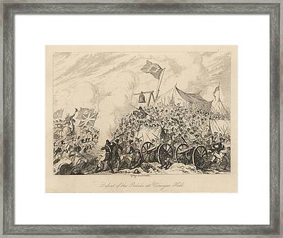 Battle Of Vinegar Hill Framed Print by British Library