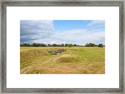 Battle Of Yorktown Battlefield Framed Print