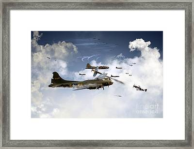 Battle Scarred Framed Print