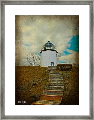 Battlefield Lighthouse  Framed Print