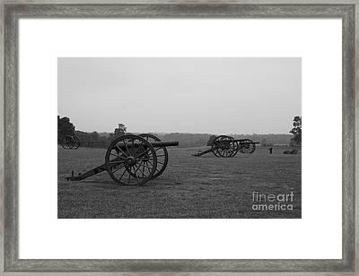 Battlefield Manassas Framed Print