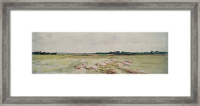 Battlefield Of Agincourt, 25th October 1415 Framed Print by John Absolon