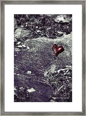 Battlefield Of Love Framed Print by Trish Mistric