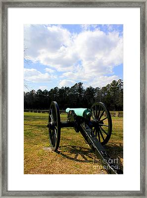 Battlegrounds Of Chattanooga Framed Print by Kathy  White
