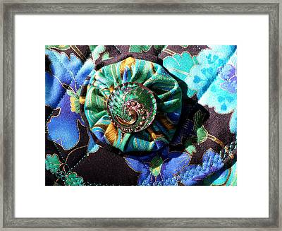 Batty For Buttons Framed Print
