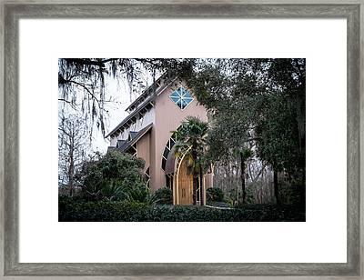 Baughman Center  Framed Print