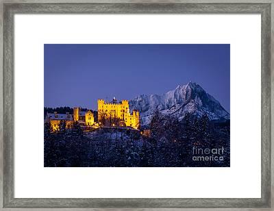 Bavarian Castle Framed Print by Brian Jannsen