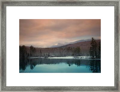Baxter State Park Maine  Framed Print by Trace Kittrell