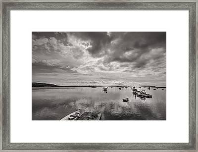Bay Area Boats Framed Print by Jon Glaser