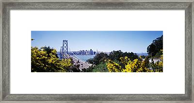 Bay Bridge In San Francisco, San Framed Print by Panoramic Images