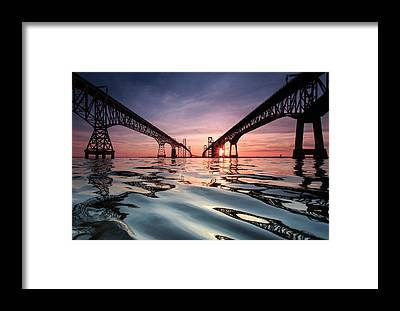 Bay Bridge Framed Prints