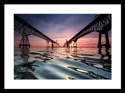 Chesapeake Bay Framed Prints