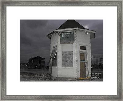 Bay City American Hoist Guard House Framed Print