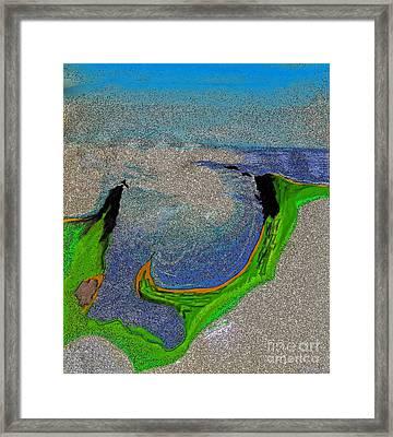 Bay Framed Print