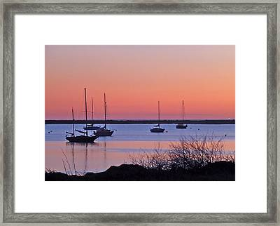 Framed Print featuring the photograph Bay Harbor by K L Kingston