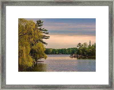 Bay Lake Framed Print by Paul Freidlund
