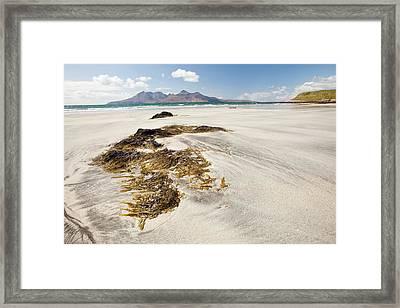 Bay Of Laig At Cleadale Framed Print