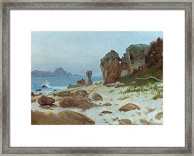 Bay Of Monterey Framed Print