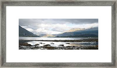 Bay Reflections Framed Print