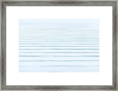 Bay Ripples Framed Print by Susan Cole Kelly Impressions