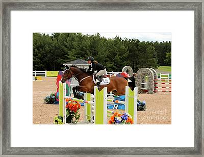 Bay Show Jumper Framed Print