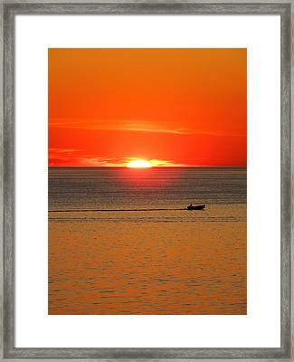Bay Side Framed Print by Andrea Galiffi