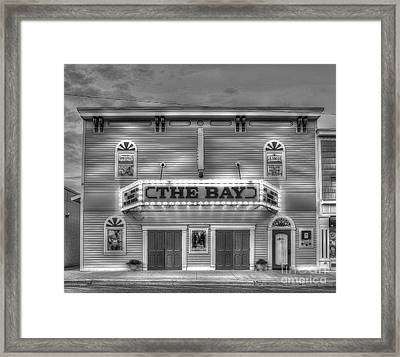 Bay Theatre In Sutton's Bay Framed Print by Twenty Two North Photography