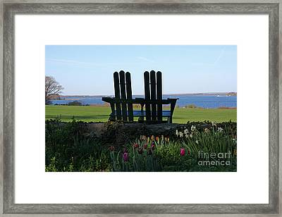 Bay View Framed Print by Butch Lombardi