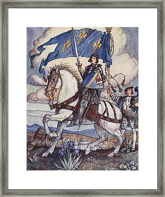 Bayard, Illustration From Bayard The Framed Print