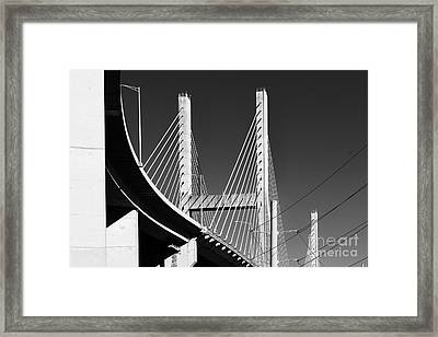 Baybridge Framed Print by Russell Christie