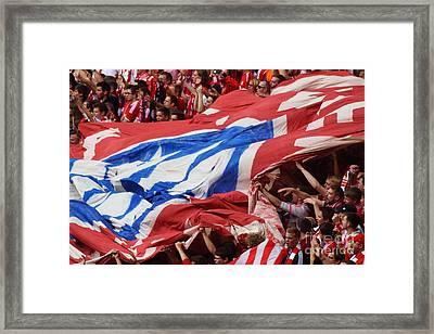 Bayern Munich Fans Framed Print