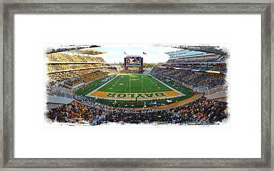 Baylor Gameday No 3 Framed Print
