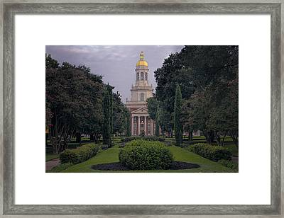 University Tower Framed Print