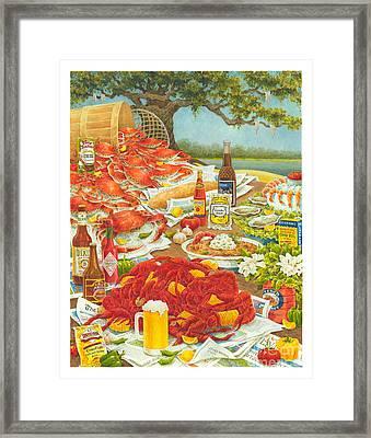 Bayou Banquet II Framed Print by Joyce Hensley